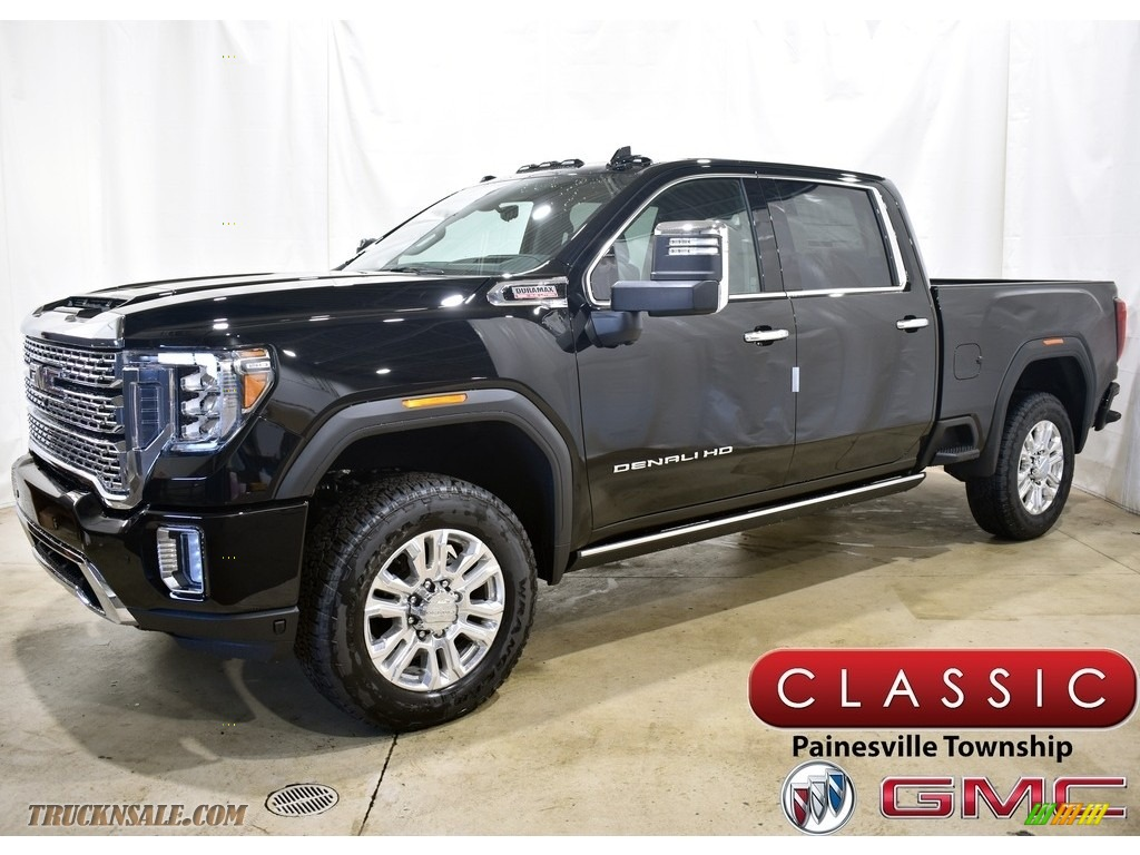 2021 Sierra 2500HD Denali Crew Cab 4WD - Onyx Black / Jet Black photo #1