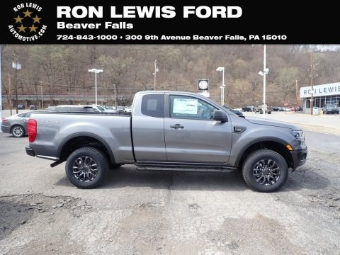 Carbonized Gray Metallic 2021 Ford Ranger XLT SuperCab 4x4