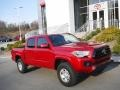 Toyota Tacoma SR5 Double Cab 4x4 Barcelona Red Metallic photo #1