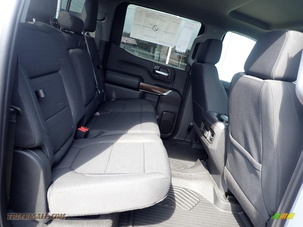 2021 Silverado 1500 LT Trail Boss Crew Cab 4x4 - Silver Ice Metallic / Jet Black photo #10