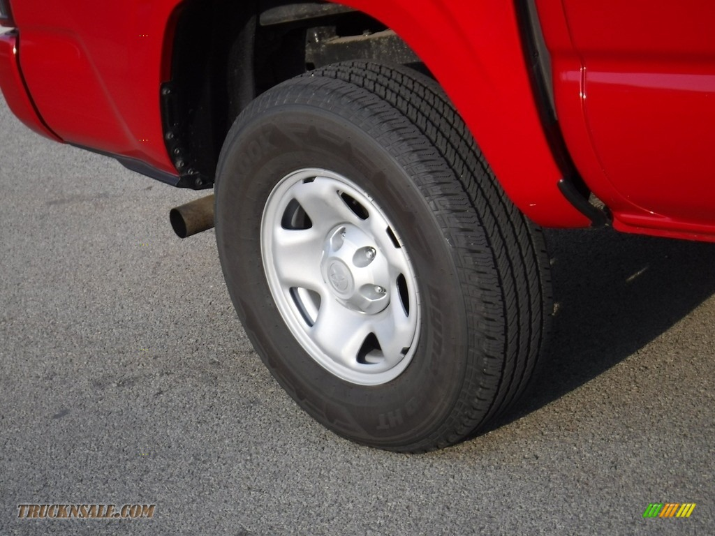 2021 Tacoma SR5 Double Cab 4x4 - Barcelona Red Metallic / Cement photo #11