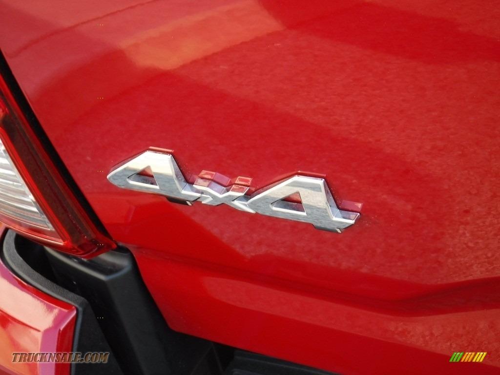 2021 Tacoma SR5 Double Cab 4x4 - Barcelona Red Metallic / Cement photo #18
