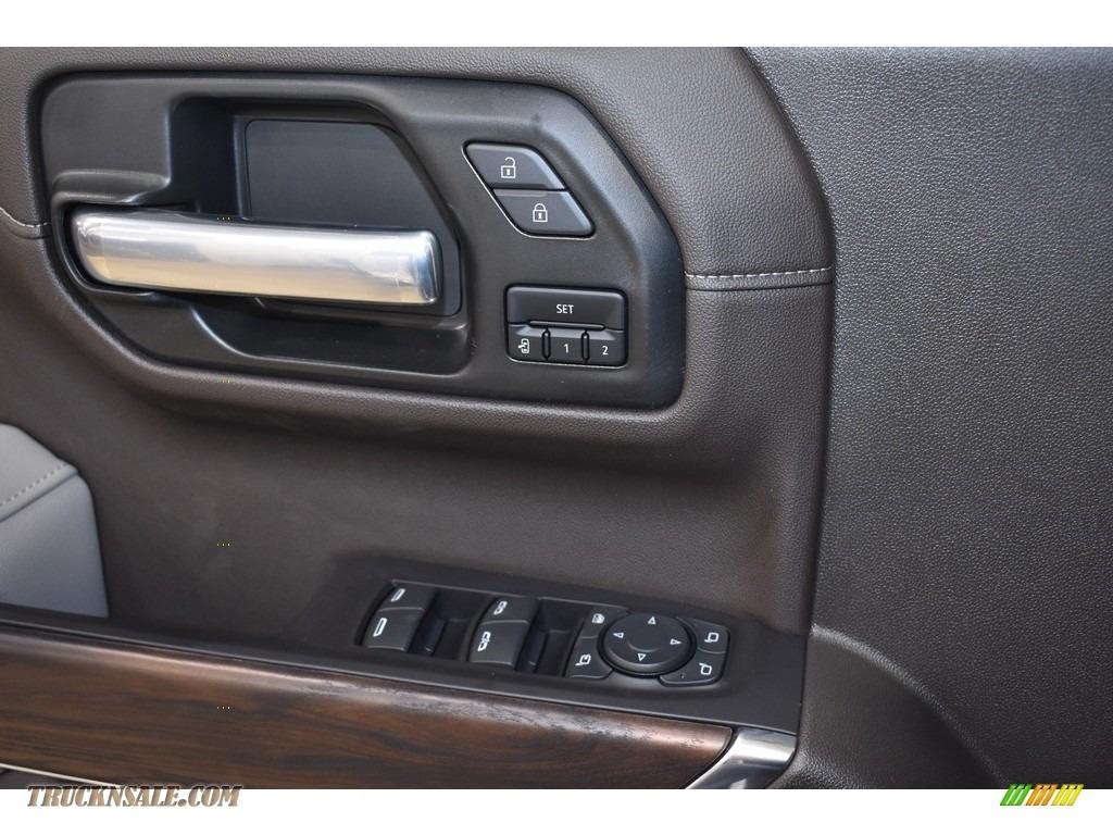 2021 Sierra 1500 SLT Crew Cab 4WD - White Frost Tricoat / Dark Walnut/Slate photo #9