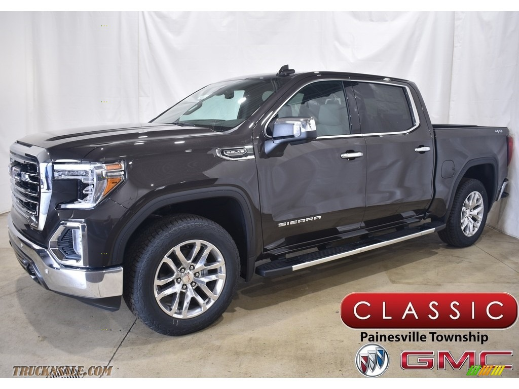Brownstone Metallic / Dark Walnut/Slate GMC Sierra 1500 SLT Crew Cab 4WD