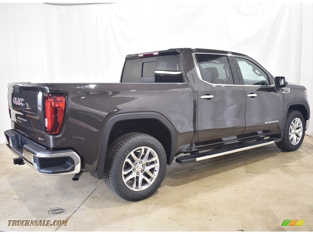 2021 Sierra 1500 SLT Crew Cab 4WD - Brownstone Metallic / Dark Walnut/Slate photo #2