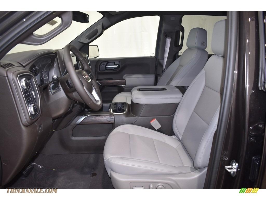 2021 Sierra 1500 SLT Crew Cab 4WD - Brownstone Metallic / Dark Walnut/Slate photo #6