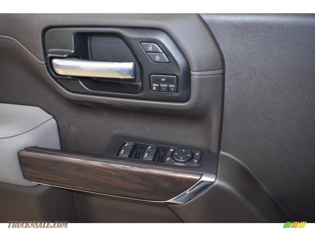 2021 Sierra 1500 SLT Crew Cab 4WD - Brownstone Metallic / Dark Walnut/Slate photo #8