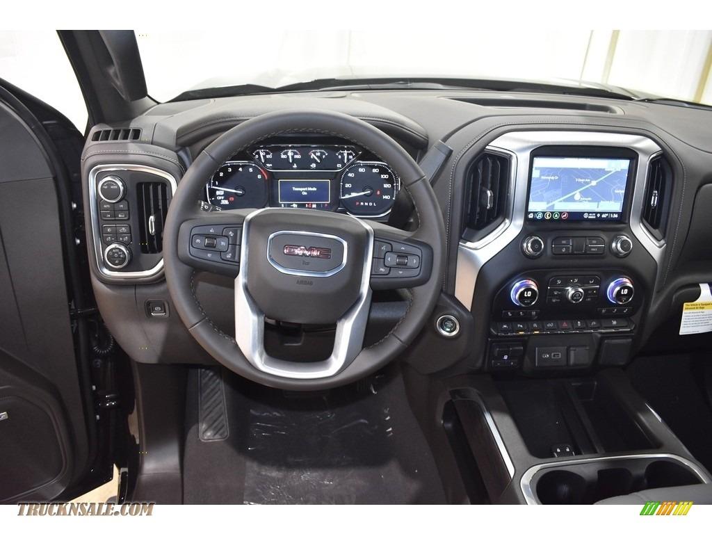 2021 Sierra 1500 SLT Crew Cab 4WD - Brownstone Metallic / Dark Walnut/Slate photo #11