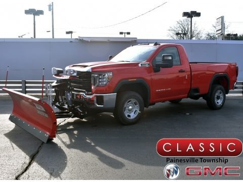 Cardinal Red 2021 GMC Sierra 2500HD Regular Cab 4WD