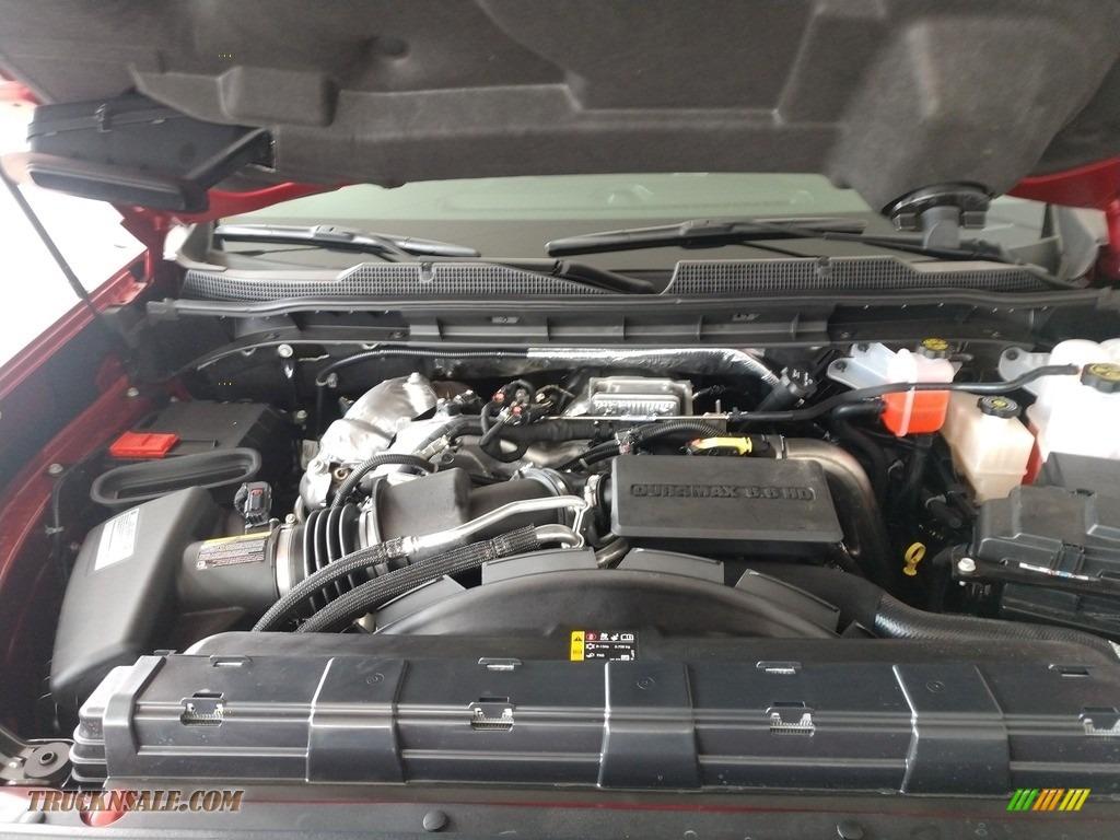 2021 Silverado 3500HD LT Crew Cab 4x4 - Cherry Red Tintcoat / Jet Black photo #10
