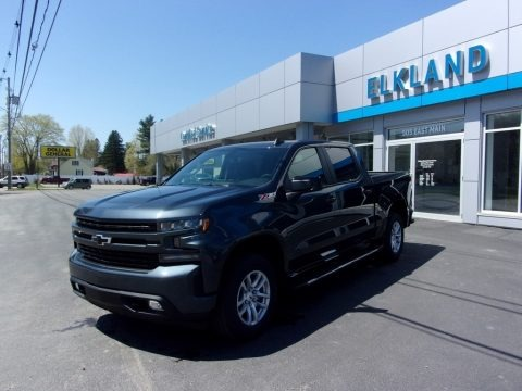 Shadow Gray Metallic 2021 Chevrolet Silverado 1500 RST Crew Cab 4x4