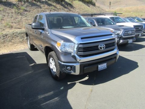 Magnetic Gray Metallic 2015 Toyota Tundra SR5 Double Cab