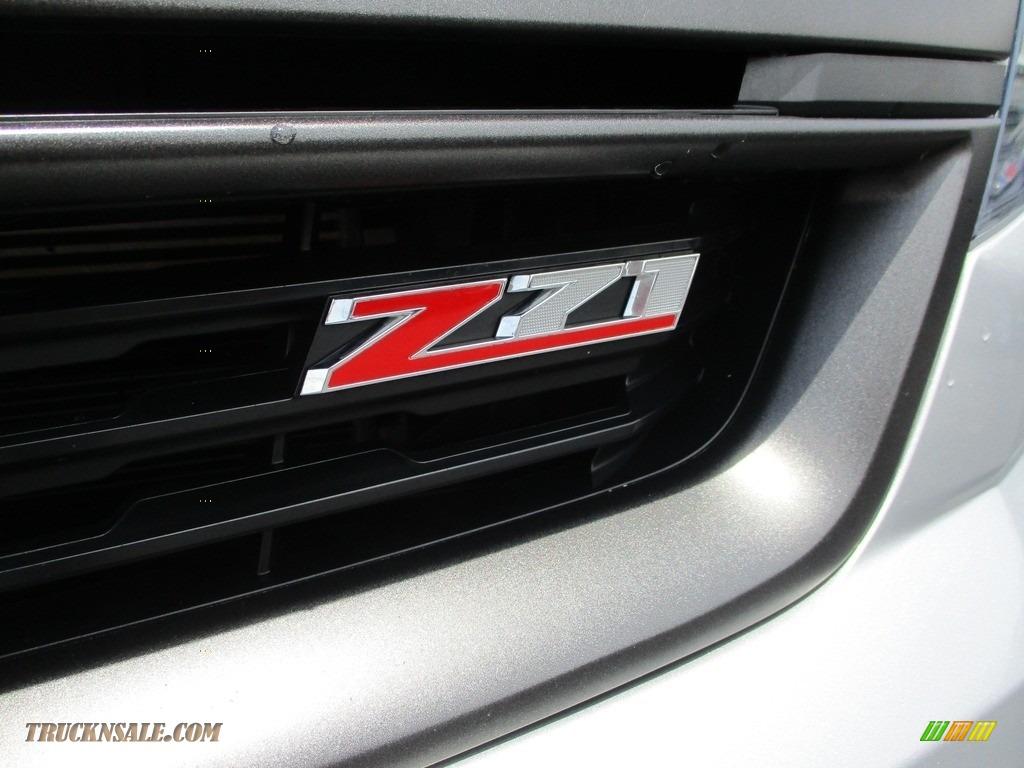 2020 Colorado Z71 Crew Cab 4x4 - Silver Ice Metallic / Jet Black photo #6