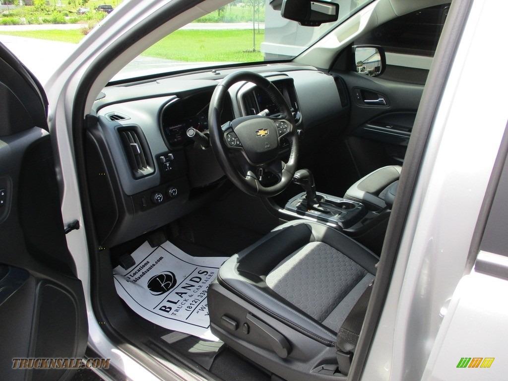 2020 Colorado Z71 Crew Cab 4x4 - Silver Ice Metallic / Jet Black photo #8