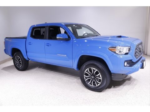 Voodoo Blue 2020 Toyota Tacoma TRD Sport Double Cab 4x4