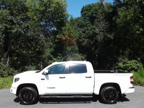Super White 2020 Toyota Tundra TRD Pro CrewMax 4x4