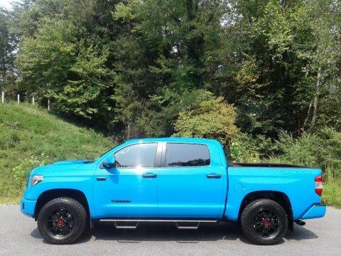 Voodoo Blue 2019 Toyota Tundra TRD Pro CrewMax 4x4