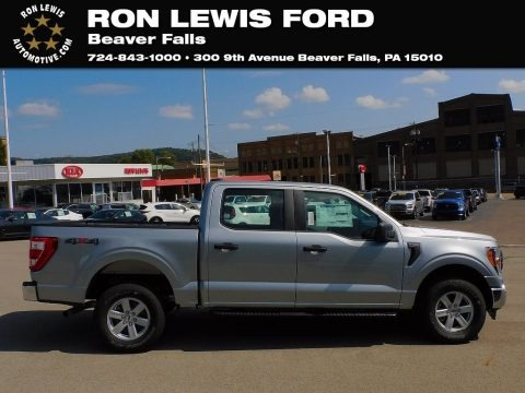 Iconic Silver 2021 Ford F150 XL SuperCrew 4x4