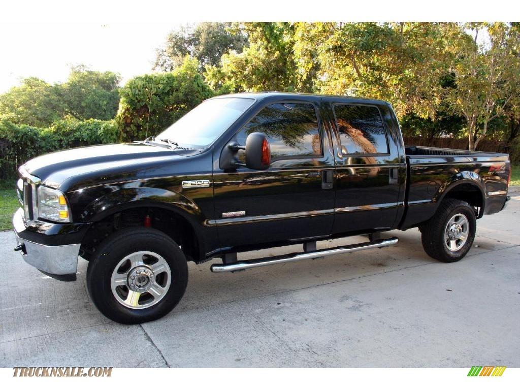 ford  super duty lariat fx crew cab   black