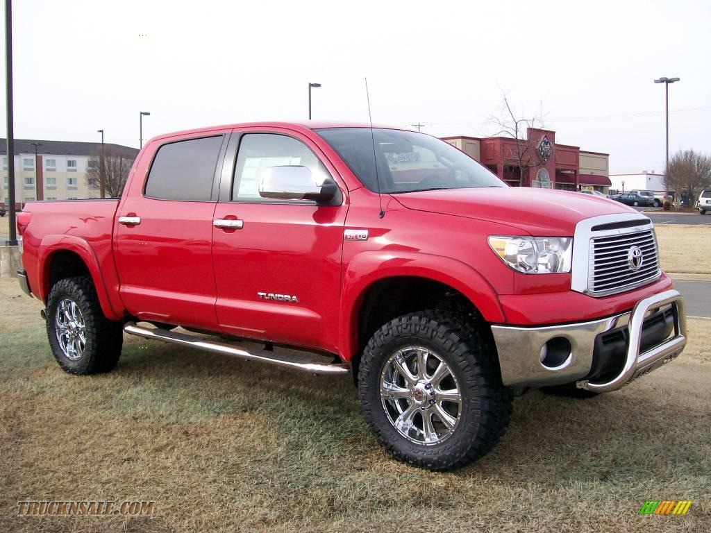 2010 Toyota Tundra CrewMax 4x4 in Radiant Red - 126214 | Truck N' Sale