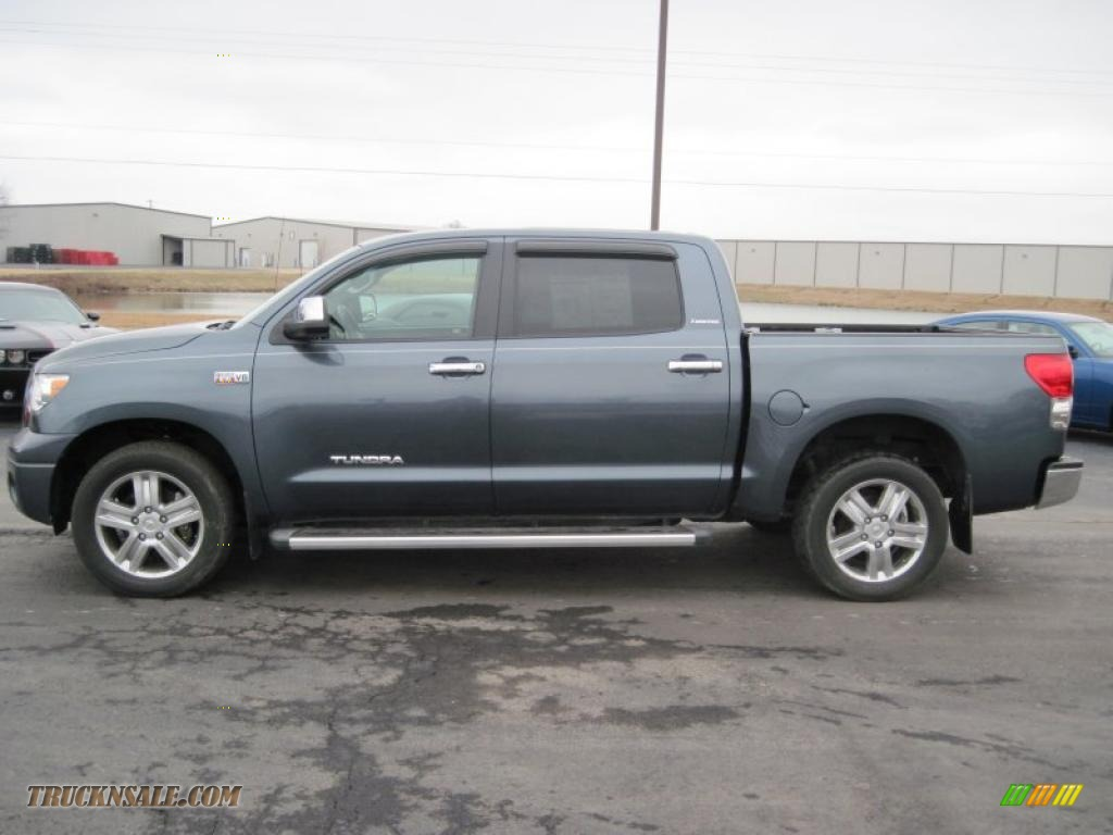 2007 toyota tundra limited crewmax in slate metallic photo 5 460742 truck n 39 sale. Black Bedroom Furniture Sets. Home Design Ideas