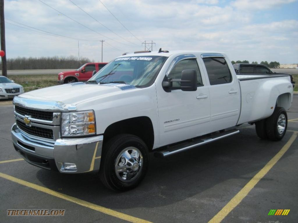 2010 Chevrolet Silverado 3500hd Ltz Crew Cab 4x4 Dually In
