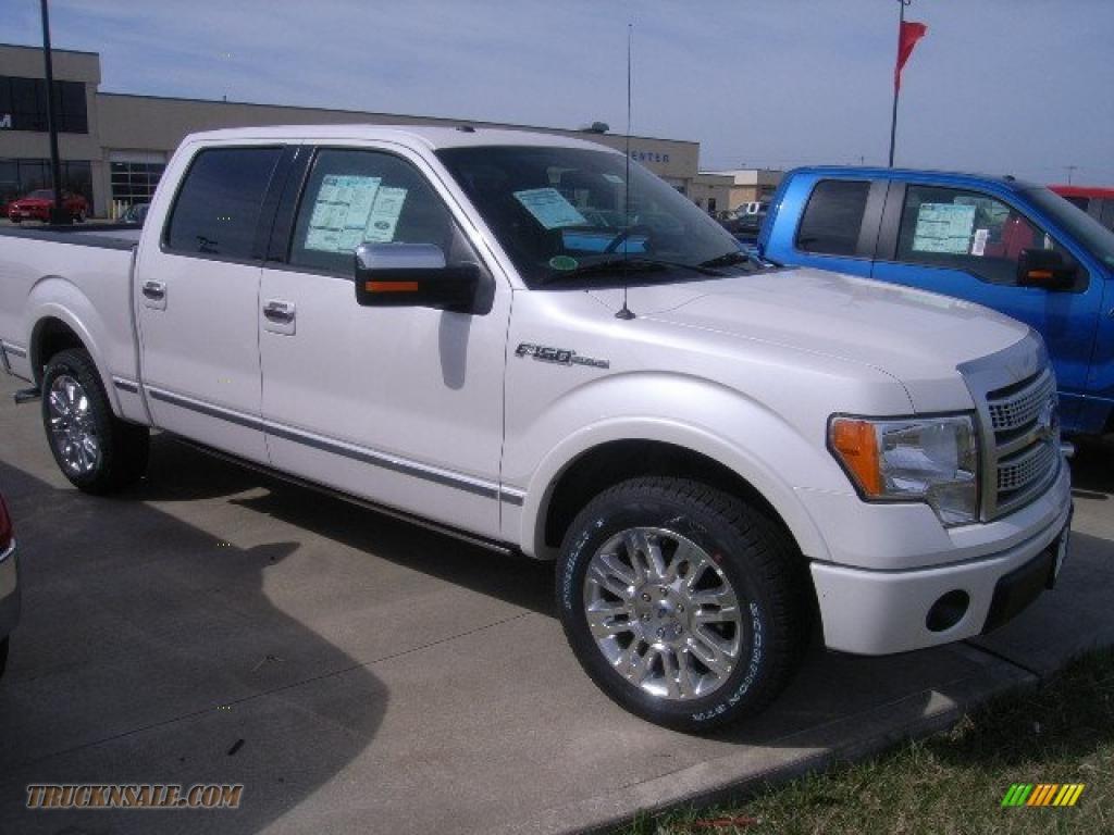 2010 Ford F150 Platinum Supercrew In White Platinum