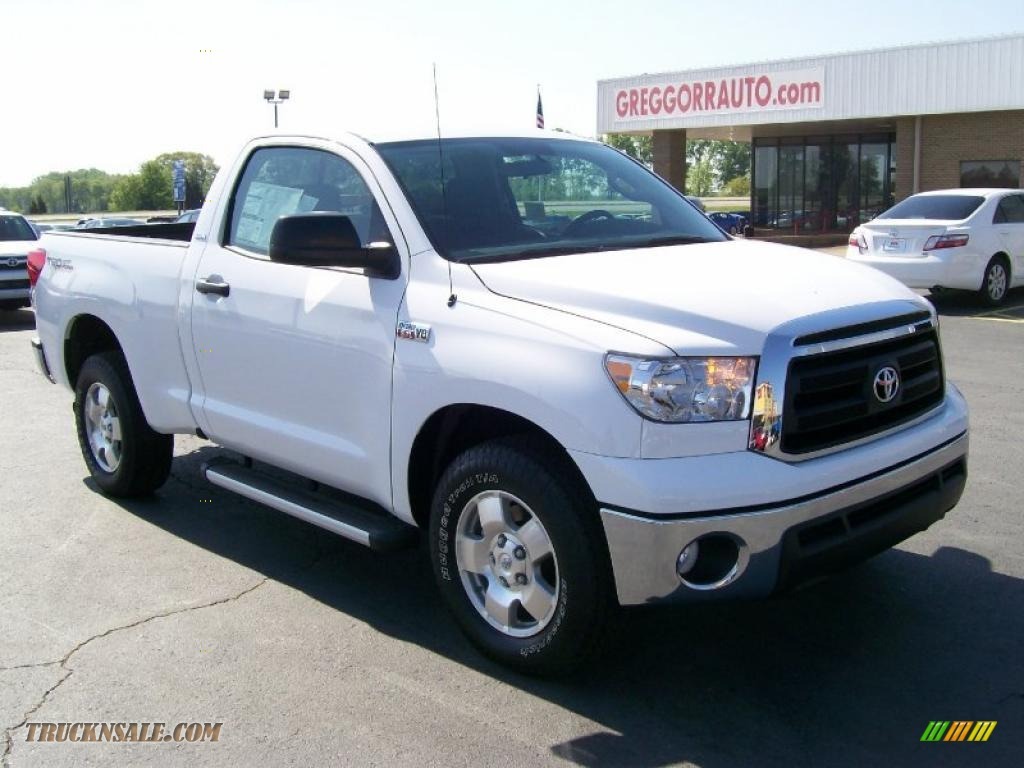 2010 toyota tundra regular cab in super white photo 3 003311 truck n 39 sale. Black Bedroom Furniture Sets. Home Design Ideas