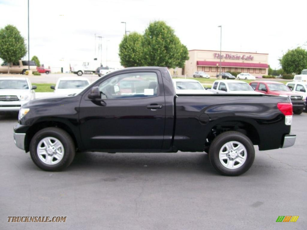 2010 toyota tundra regular cab in black photo 5 004512 truck n 39 sale. Black Bedroom Furniture Sets. Home Design Ideas