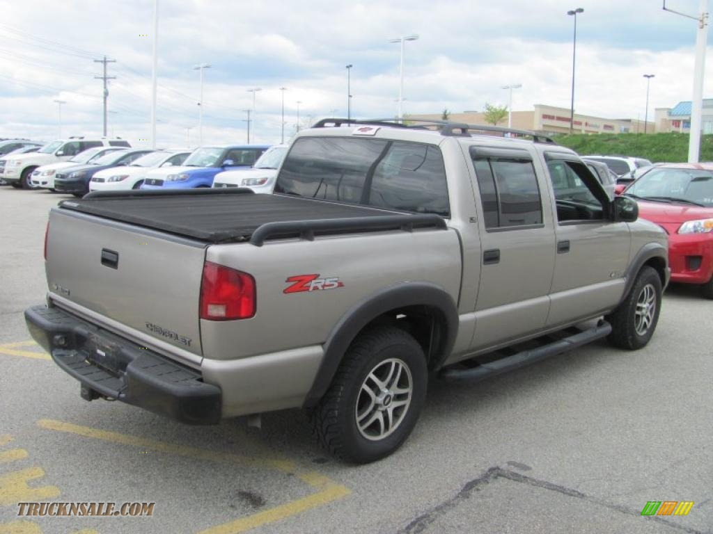 2003 chevrolet s10 ls zr5 crew cab 4x4 in light pewter metallic photo 8 113669 truck n 39 sale