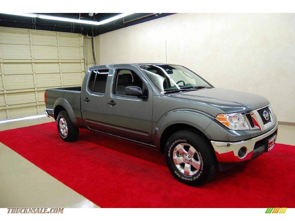 2009 nissan frontier se crew cab in storm gray 421135 truck n 39 sale. Black Bedroom Furniture Sets. Home Design Ideas