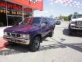 Nissan Hardbody Truck XE V6 Extended Cab Royal Blue Metallic photo #3