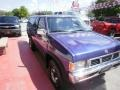 Nissan Hardbody Truck XE V6 Extended Cab Royal Blue Metallic photo #7