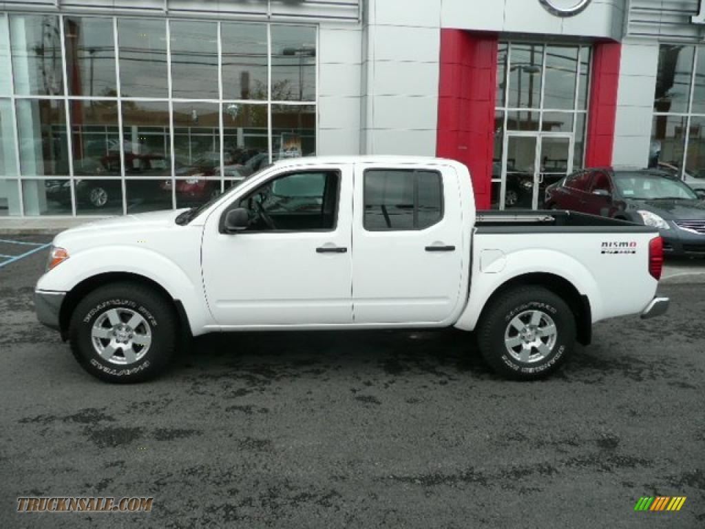 2005 nissan frontier nismo crew cab 4x4 in avalanche white. Black Bedroom Furniture Sets. Home Design Ideas