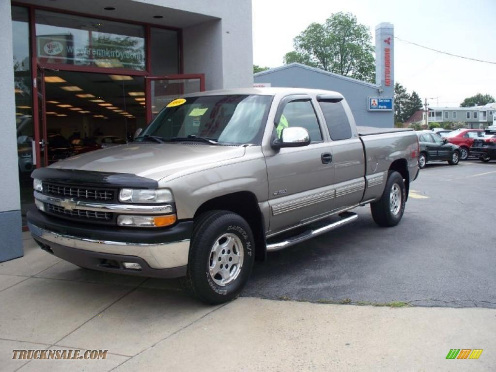1999 chevrolet silverado 1500 ls z71 extended cab 4x4 in light pewter. Cars Review. Best American Auto & Cars Review