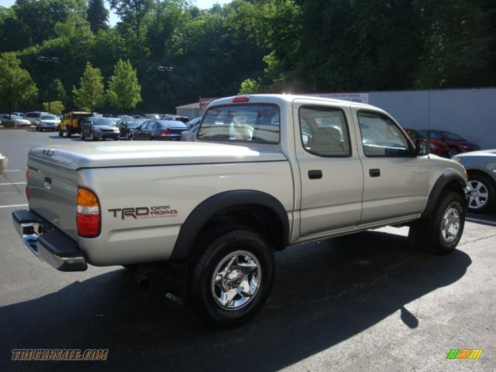 2001 toyota tacoma v6 trd double cab 4x4 in lunar mist silver metallic photo 5 735315 truck. Black Bedroom Furniture Sets. Home Design Ideas