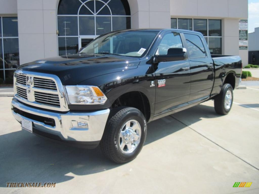 2010 ram 2500 lone star edition crew cab 4x4 brilliant black crystal pearl dark