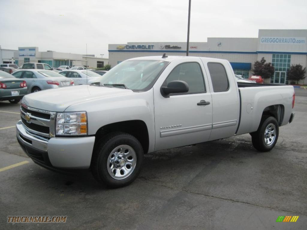 2010 chevrolet silverado 1500 ls extended cab in sheer. Black Bedroom Furniture Sets. Home Design Ideas