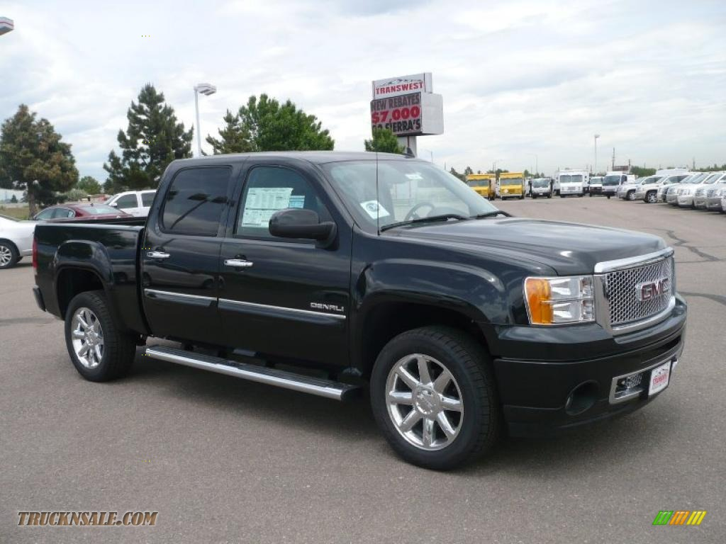 2010 gmc sierra 1500 denali crew cab awd in carbon black. Black Bedroom Furniture Sets. Home Design Ideas
