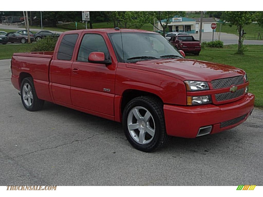 All Types single cab silverado ss : 2004 Chevrolet Silverado 1500 SS Extended Cab AWD in Victory Red ...