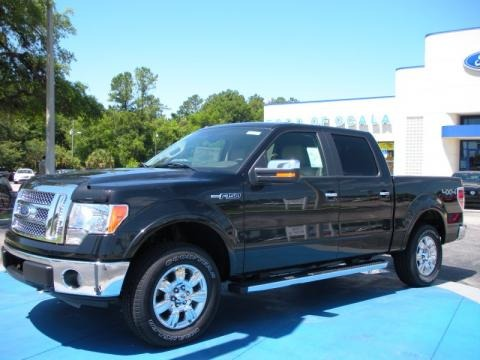Ford F150 Lariat Supercrew. Tuxedo Black Ford F150 Lariat