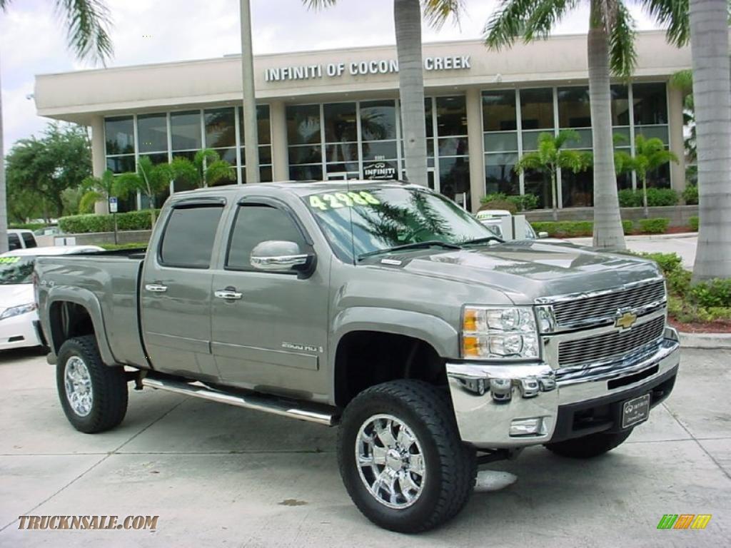 Graystone Metallic / Dark Titanium/Light Titanium Chevrolet Silverado 2500HD LTZ Crew Cab 4x4