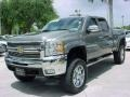 Chevrolet Silverado 2500HD LTZ Crew Cab 4x4 Graystone Metallic photo #15