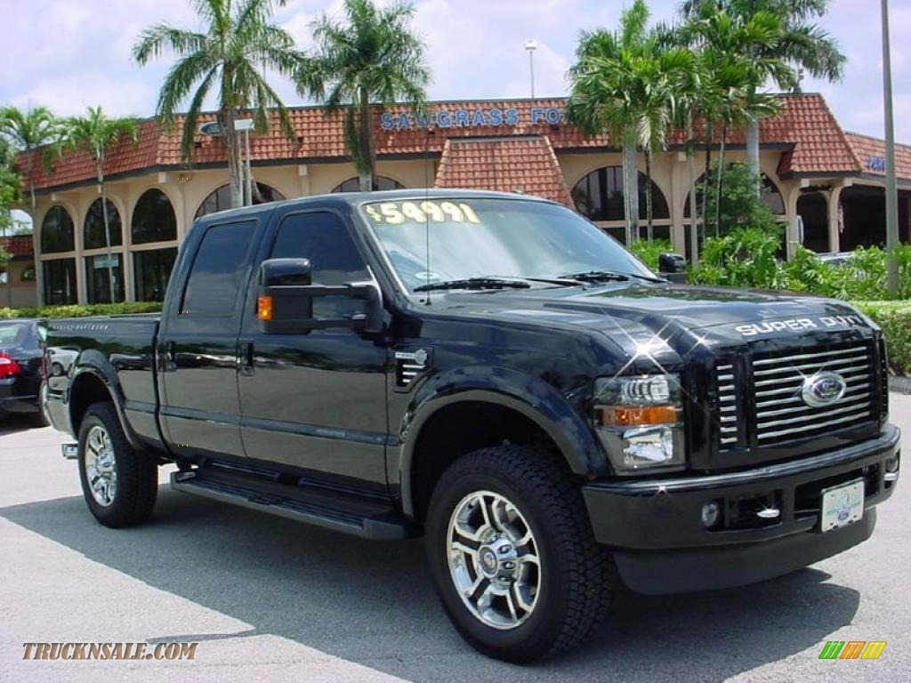 2010 Ford F250 Super Duty Harley-Davidson Crew Cab 4x4 in Black