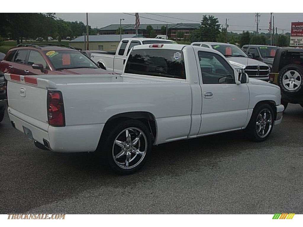 2006 chevrolet silverado 1500 jon moss signature series rst in summit white 228360 truck n 39 sale. Black Bedroom Furniture Sets. Home Design Ideas