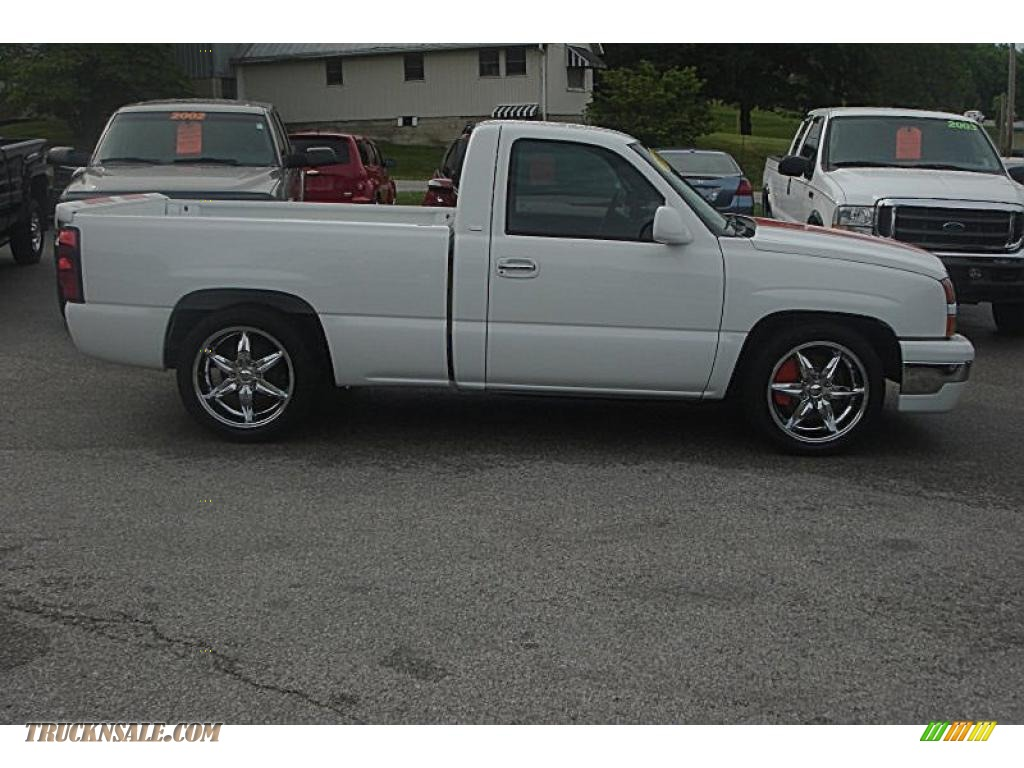 2006 chevrolet silverado 1500 jon moss signature series rst in summit white photo 2 228360. Black Bedroom Furniture Sets. Home Design Ideas