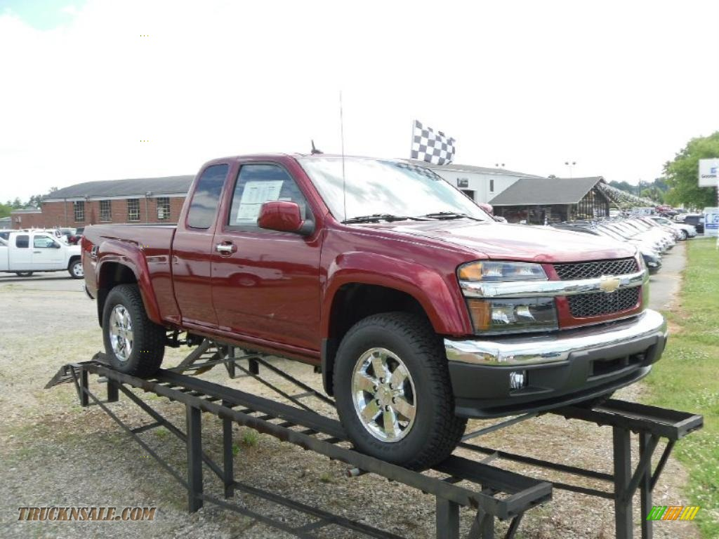 2010 chevrolet colorado lt extended cab 4x4 in cardinal. Black Bedroom Furniture Sets. Home Design Ideas