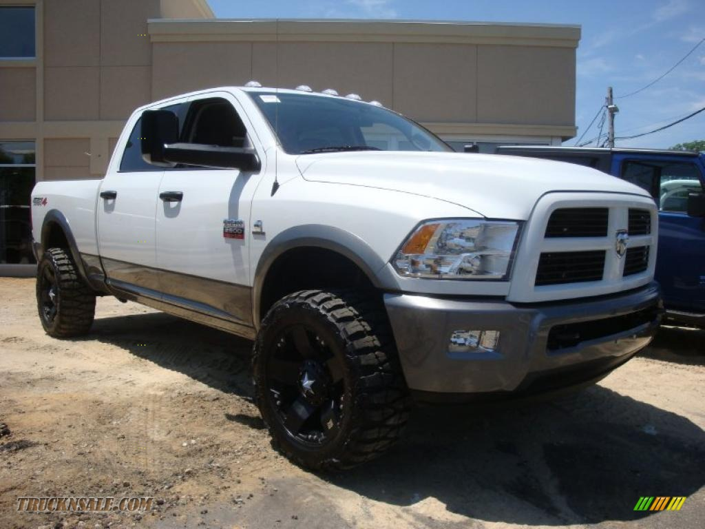 2010 dodge ram 2500 trx4 off road crew cab 4x4 in bright white photo 6 159353 truck n 39 sale. Black Bedroom Furniture Sets. Home Design Ideas