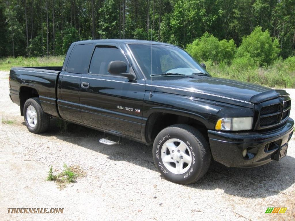 2001 Dodge Ram 1500 Sport Club Cab In Black 818401