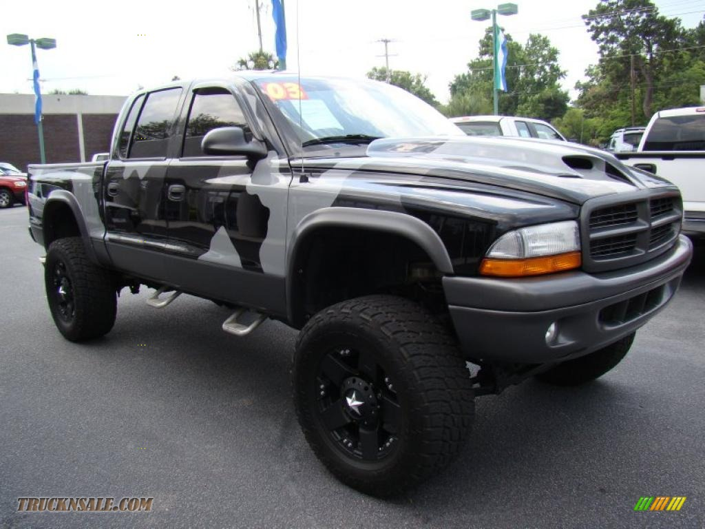 2003 Dodge Dakota SLT Quad Cab 4x4 in Bright Silver Metallic photo #5 ...